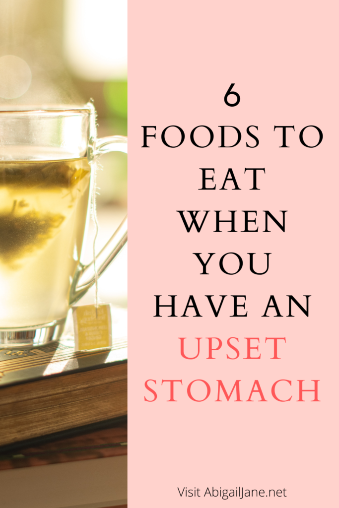 what to eat for upset stomach