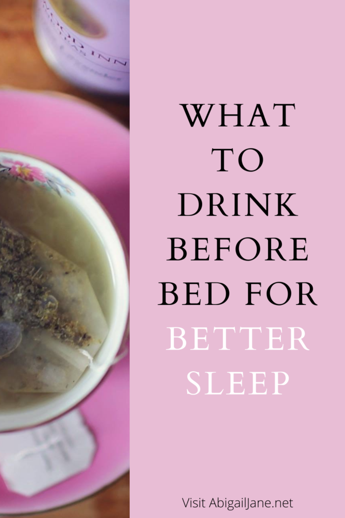 what to drink before bed