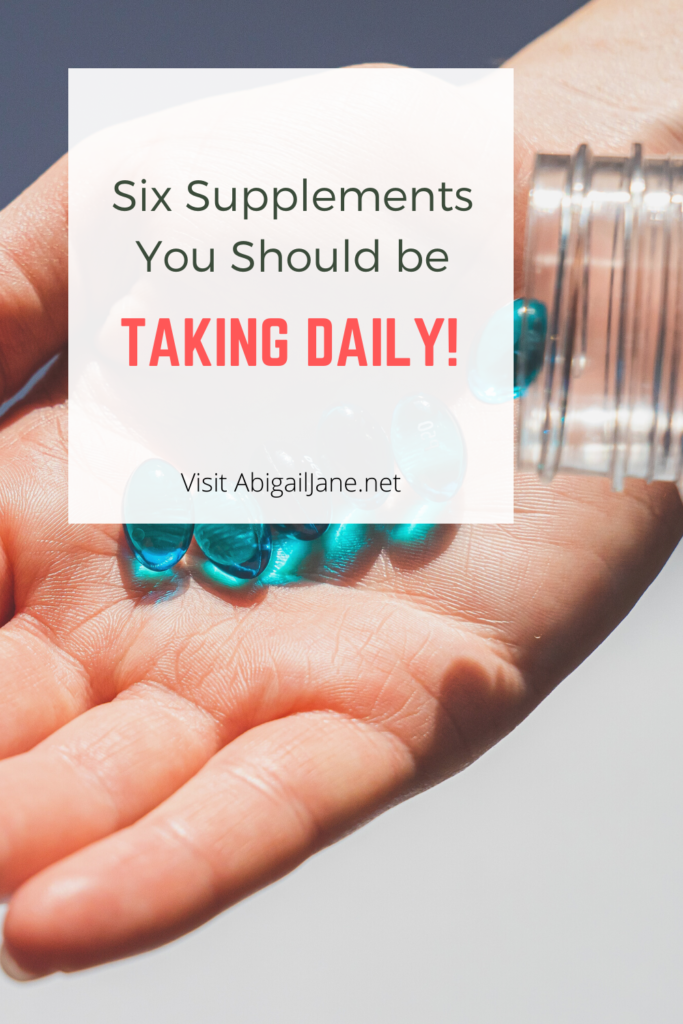what supplements should I be taking